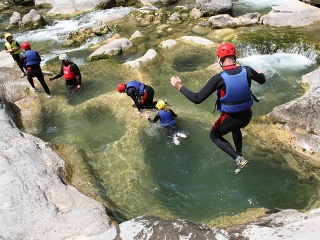 Canyoning-Tour ab Split