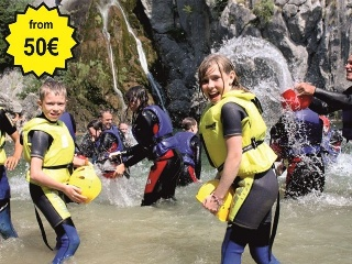 Canyoning trips from Split